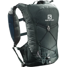 Salomon Agile 12 Trinkrucksack green gables